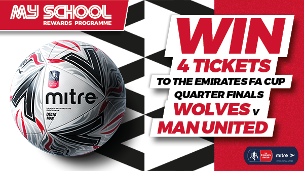 Win 4 FA Cup Tickets to watch Wolves v Man United