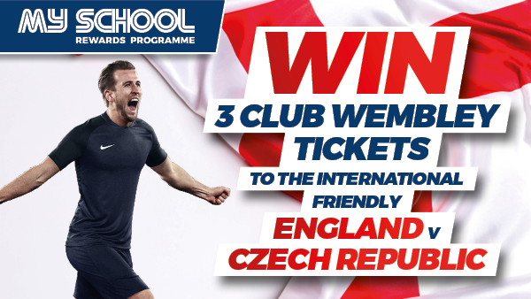 Win Tickets to watch England v Czech Republic