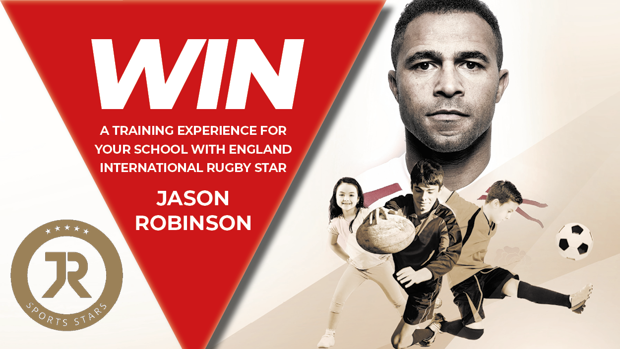 Win a rugby training session with JR Sports Stars