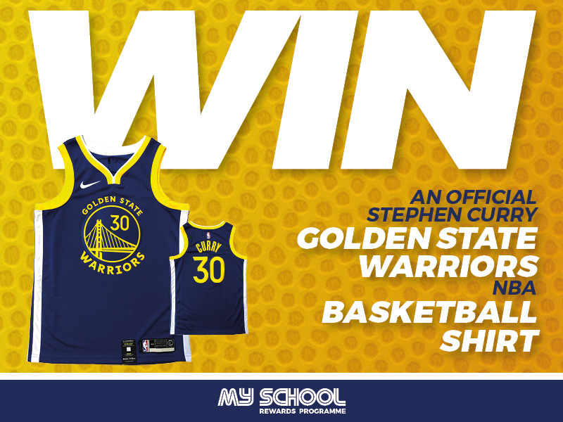 Win a Stephen Curry Golden State Warriors NBA Jersey