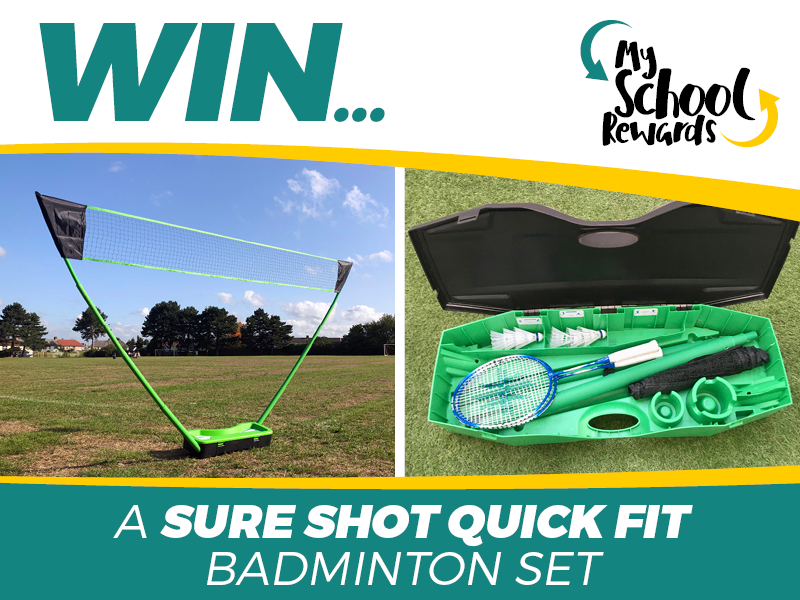 Win a Sure Shot Badminton Unit