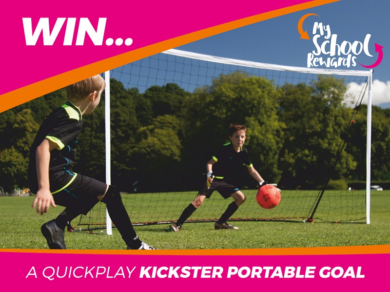 Win a Quickplay Kickster Portable Goal