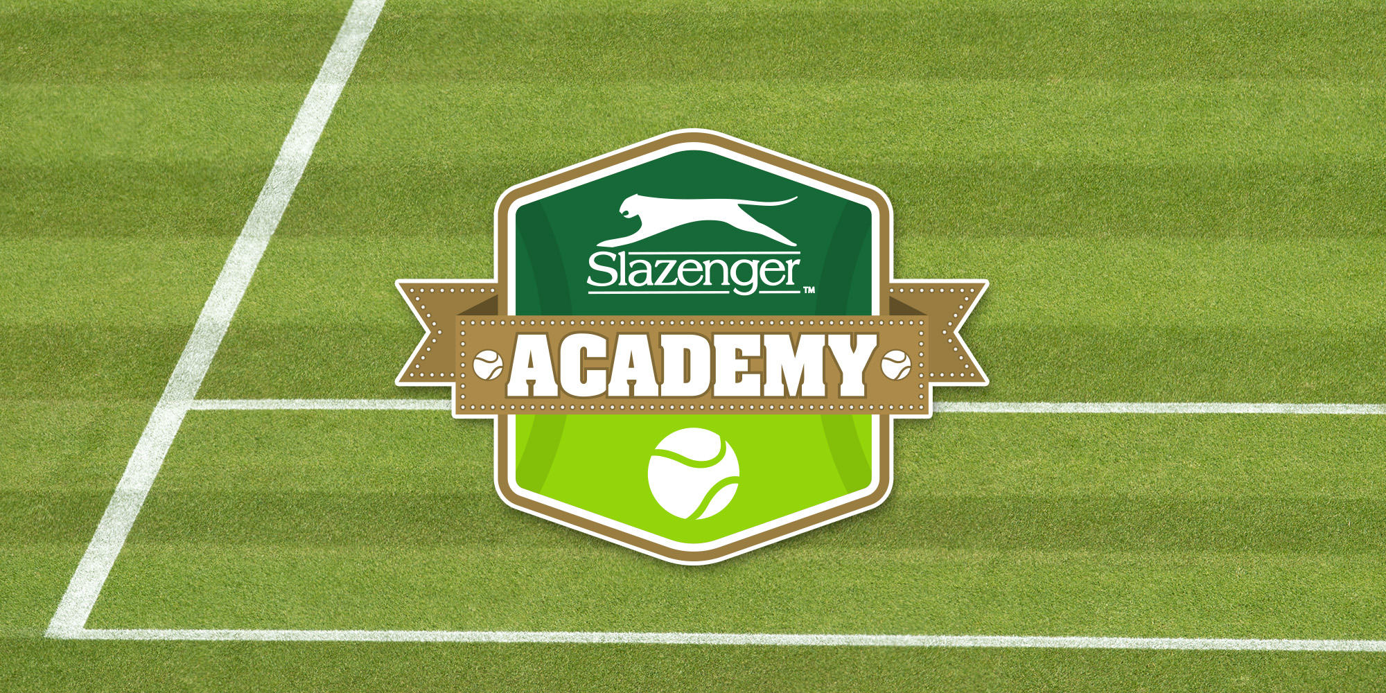 The new Slazenger Academy