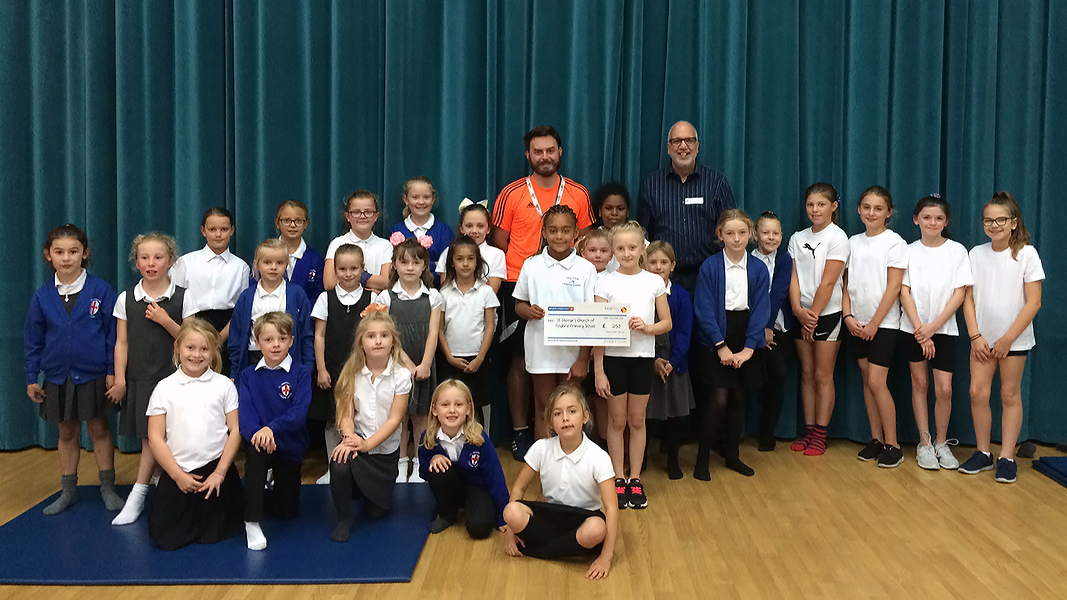 Small Grants Scheme funding for Gymnastics & Athletics