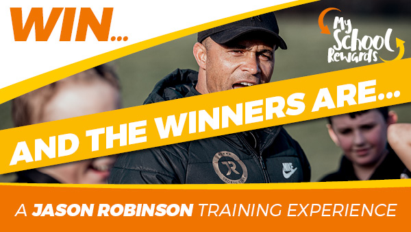 Jason Robinson Training Day winners announced