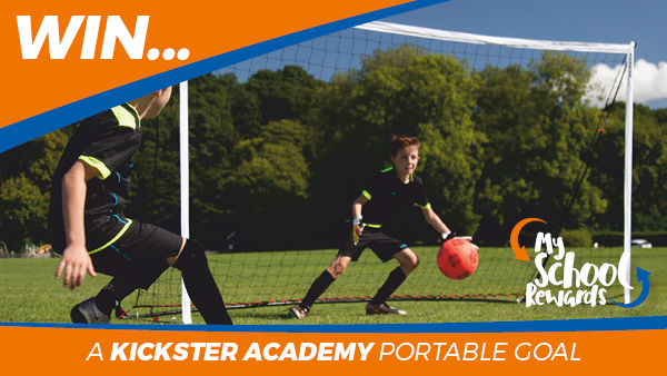 Win a Quickplay Kickster Academy Portable Football Goal